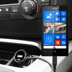 Olixar High Power Lumia 520 KFZ Ladekabel