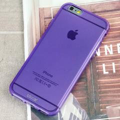 Olixar FlexiShield iPhone 6S / 6 Case - Purple