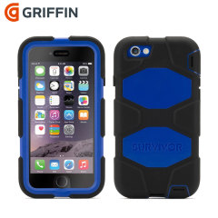 Griffin Survivor iPhone 6S / 6 All-Terrain Case - Black / Blue