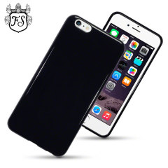 Encase FlexiShield Case iPhone 6 Plus Hülle in Solid Black