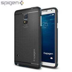 Spigen Neo Hybrid Samsung Galaxy Note 4 Case - Metal Slate