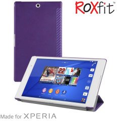 Roxfit Book Slim Sony Xperia Z3 Tablet Tasche in Carbon Lila