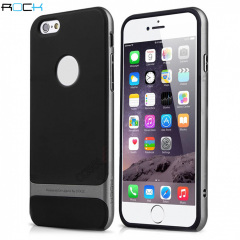 ROCK Royce iPhone 6S Plus / 6 Plus Hybrid Case - Grey