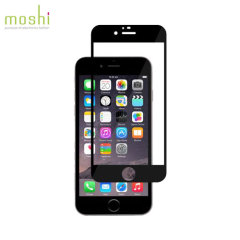Moshi iVisor iPhone 6S / 6 Glas Displayschutz in Schwarz