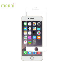Moshi iVisor iPhone 6S Plus / 6 Plus Glas Displayschutz in Weiß