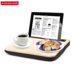 Kikkerland iBed Lap Desk for iPads and Tablets - Wood