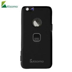 Kisomo iSelf iPhone 6S / 6 Selfie Hülle in Schwarz