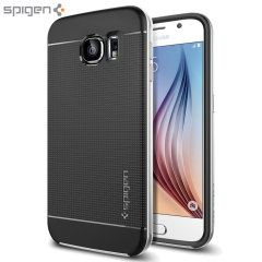 Spigen Neo Hybrid Samsung Galaxy S6 Case - Satin Silver