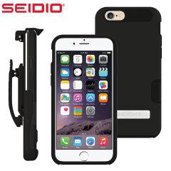 Seidio DILEX Pro Combo Apple iPhone 6S / 6 Holster Case - Black