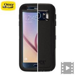 OtterBox Defender Series Samsung Galaxy S6 Case - Black