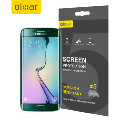 Olixar Samsung Galaxy S6 Edge Screen Protector 5-in-1 Pack