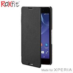 Roxfit Book Slim Sony Xperia M4 Aqua Tasche in Schwarz