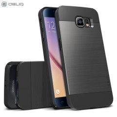 Obliq Slim Meta Samsung Galaxy S6 Case - Titanium Space Grey