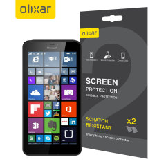 Olixar Microsoft Lumia 640 XL Display2-in-1 Pack