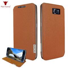 Piel Frama FramaSlim Samsung Galaxy S6 Leather Case - Tan