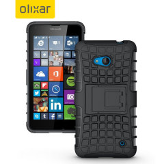 ArmourDillo Microsoft Lumia 640 Protective Case - Black