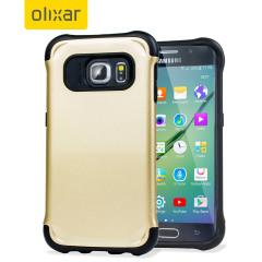 Olixar ArmourLite Samsung Galaxy S6 Edge Case - Gold