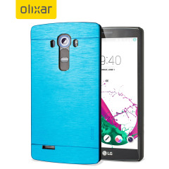 Olixar Aluminium LG G4 Shell Case - Electric Blue