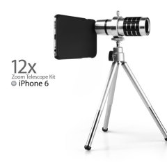 iPhone 6S / 6 12x Zoom Telescope Kit with Tripod Stand