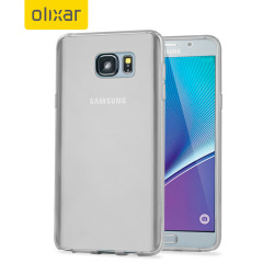 FlexiShield Samsung Galaxy Note 5 Gel Case - Frost White