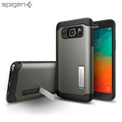 Spigen Slim Armor Samsung Galaxy Note 5 Case - Gunmetal