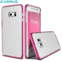 Verus Crystal Bumper Samsung Galaxy S6 Edge Plus Case - Hot Pink