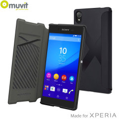 Muvit Easy Folio MFX Sony Xperia Z5 Case - Black