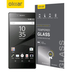 Olixar Sony Xperia Z5 Premium Tempered Glass Screen Protector