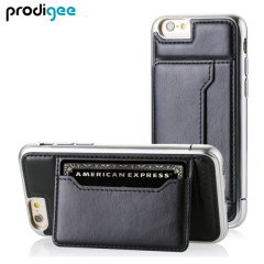 Prodigee Trim Tour iPhone 6 Eco-Ledertasche in Schwarz
