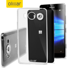 FlexiShield Ultra-Thin Microsoft Lumia 950 Gel Case - 100% Clear