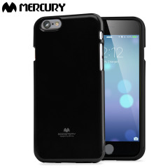 Mercury Goospery Jelly iPhone 6S / 6 Gel Case Hülle in Schwarz