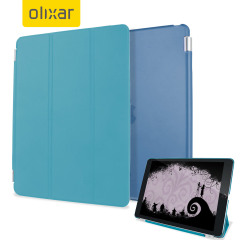 Olixar Apple iPad Mini 4 Smart Cover with Hard Case - Blue