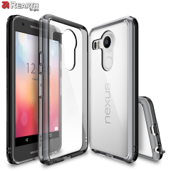 Rearth Ringke Fusion Google Nexus 5X Case - Smoke Black
