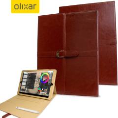 Olixar iPad Pro 12.9 inch Vintage Stand Smart Case - Cognac