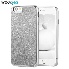 Prodigee Sparkle Fusion iPhone 6S Plus / 6 Plus Glitter Case - Silver