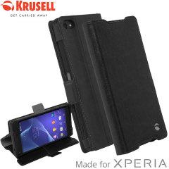 Krusell Ekero Sony Xperia Z5 Compact Folio Tasche in Schwarz