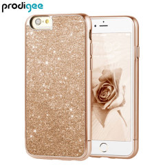 Prodigee Sparkle Fusion iPhone 6S Plus / 6 Plus Glitter Case - Rose