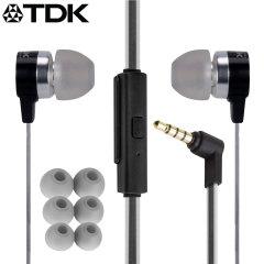 TDK SP400 Active Weather-Resistant Earphones - Black