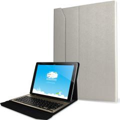 Ultra-Thin Aluminium Keyboard iPad Pro 12.9 inch Folding Case - White