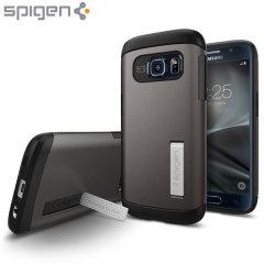 Spigen Slim Armor Case Samsung Galaxy S7 Hülle in Gunmetal
