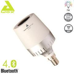Awox Striim Light Mini Bluetooth Speaker LED Light Bulb