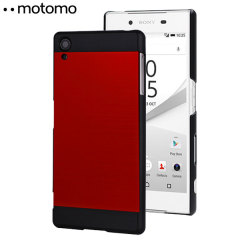 Motomo Ino Metal Sony Xperia Z5 Case - Red / Black