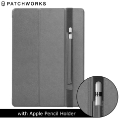Patchworks PureCover iPad Pro mit Apple Stifthalter in Grau