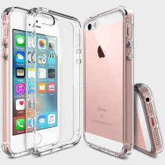 Ringke Fusion iPhone SE Hülle Case in Crystal View