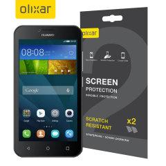 Olixar Huawei Y5 Displayschutz 2-in-1 Pack
