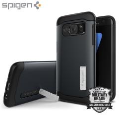 Spigen Slim Armor Case Samsung Galaxy S7 Edge Hülle in Metal Slate