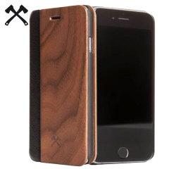 Woodcessories EcoFlip Comfort Wooden iPhone 6S/6 Plus Case - Walnut