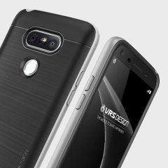 VRS Design High Pro Shield Series LG G5 Case - Black / Silver