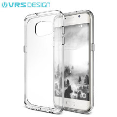 VRS Design Crystal Mixx Samsung Galaxy S7 Edge Hülle Kristalll Klar