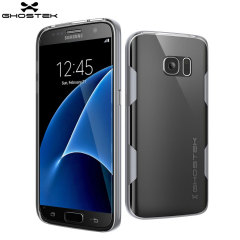 Ghostek Cloak Samsung Galaxy S7 Tough Case - Clear / Silver